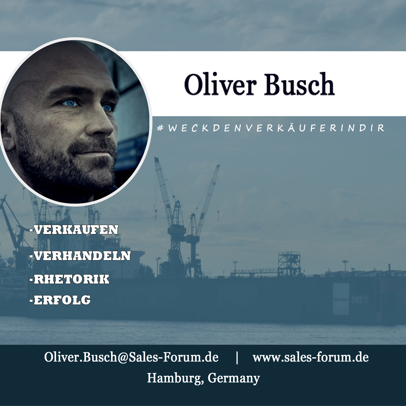 Der nicht Verkäufer - mit Oliver Busch